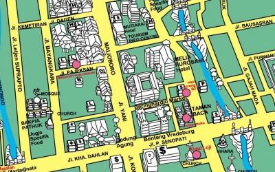 Peta Jogja, Peta Yogyakarta