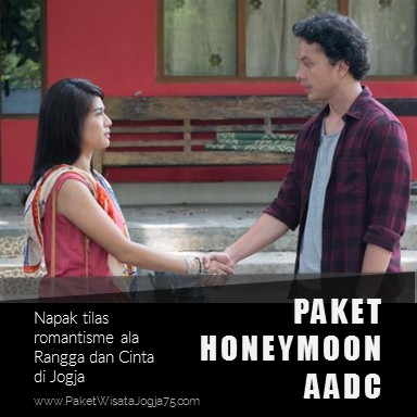 Paket honeymoon AADC, paket AADC jogja, honeymoon AADC