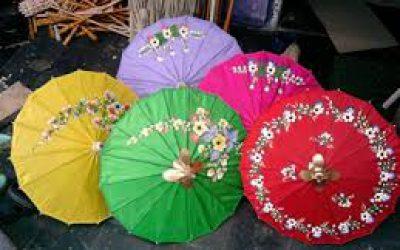 payung juwiring, payung tradisional