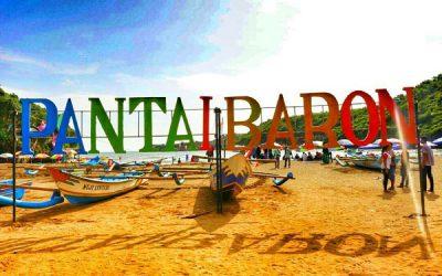 obyek wisata pantai gunung kidul yogyakarta, pantai baron, pantai drini, pantai kukup, paket wisata jogja75,